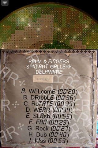 PALM & FINGERS SPIN ART GALLERY - Delaware (Re<ords004)