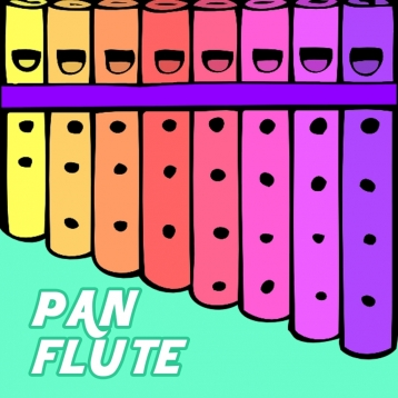 Pan Flute for Toddlers