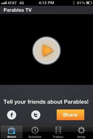 Www parables tv roku