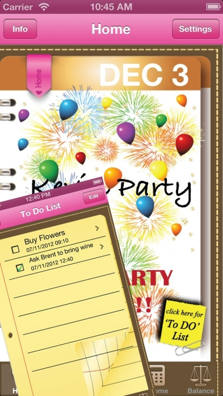 Party Planner - iParty Deluxe
