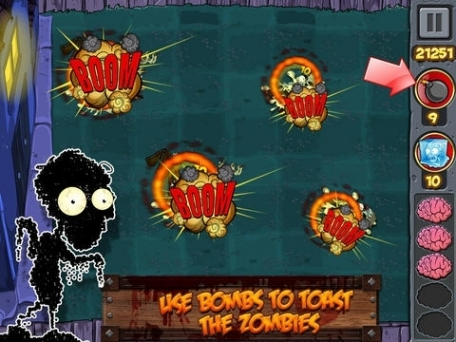 3D Zombie Smasher Run: Escape the Scary Horror Temple Evil Dead Killer Addictive Fighting Games