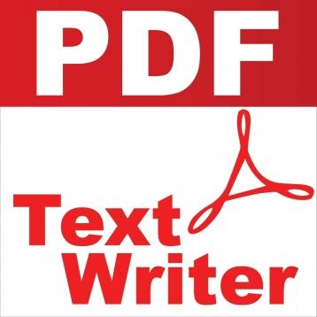 PDF Text Writer®