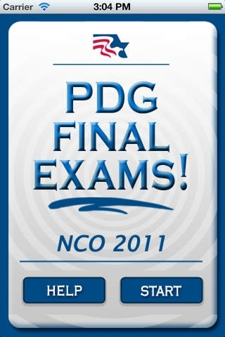PDG Final Exams! - NCO '11