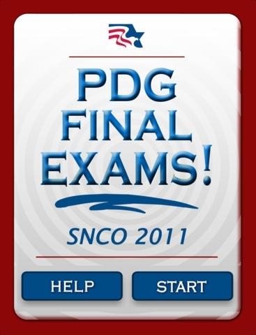 PDG Final Exams! - SNCO '11