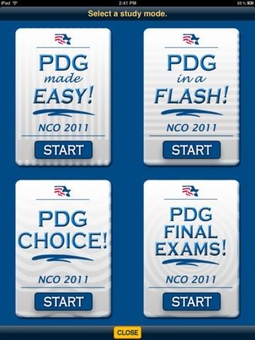 PDG Suite - NCO '11