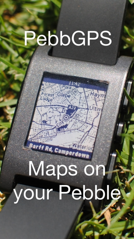 PebbGPS - Pebble Smartwatch maps and directions