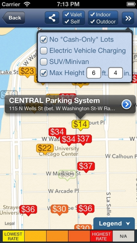 BestParking - Find the Best Daily and Monthly Parking Garages & Lots in North American Cities & Airports
