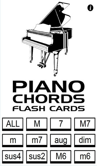 Piano Chords Flash Cards Music App Review Ios 199 For September