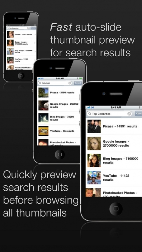 picTrove Pro - image search across multiple services