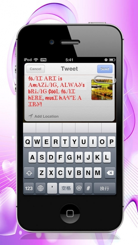 Your font for facebook twitter instagram imessages cool fonts