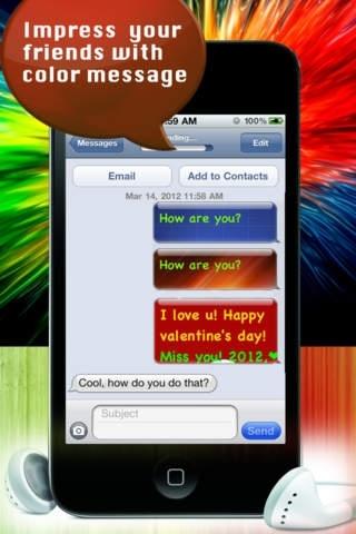 Pimp Your Message PRO - Color & Glow Your Text Message FREE
