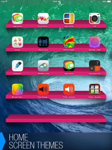 Pimp Your Screen - Custom Themes and Wallpapers for iPhone, iPod touch and iPad