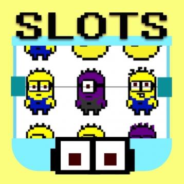 Pixel Minion Block Slots : Free Casino Slot Machine, Win the Jackpot