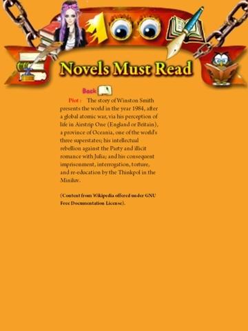 100 Novels Must Read