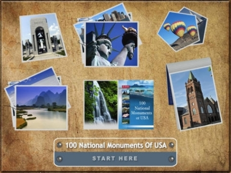 100 National Monuments Of USA