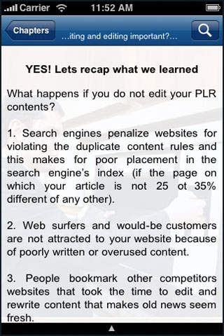 PLR Article Rewriting Made Easy