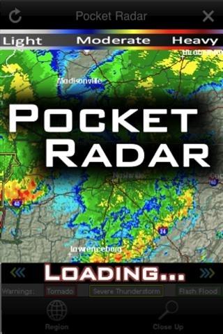 Pocket Radar: TX