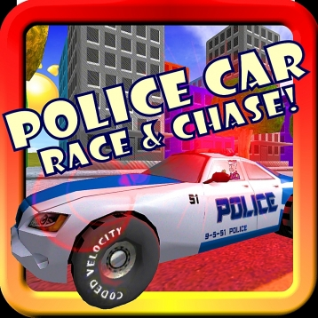 Police Car Race & Chase For Toddlers and Kids