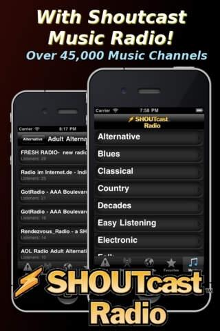 Police Scanner Radio (Plus Music & News)