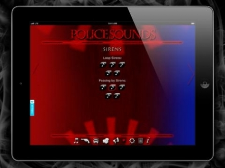 Police Sounds - Soundtrack Creator by onFireApps
