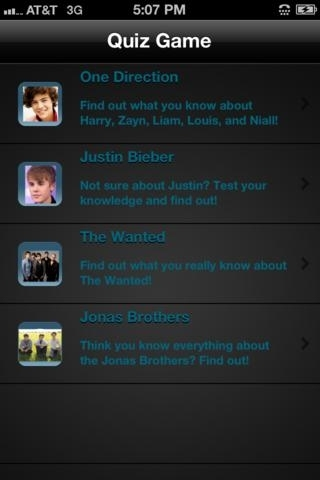 Pop Music Quiz with One Direction, The Wanted, and Justin Bieber