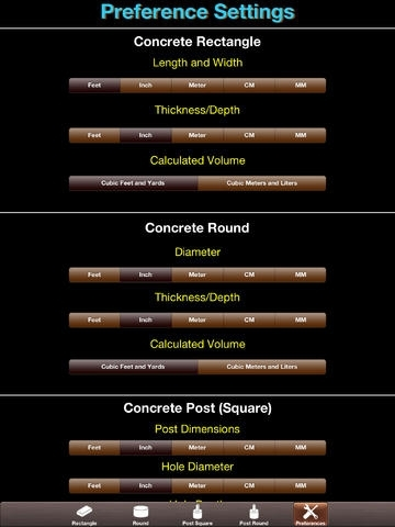 Concrete Calc Elite - Industry leading concrete and cement calculator for masonry construction contractors and building professionals