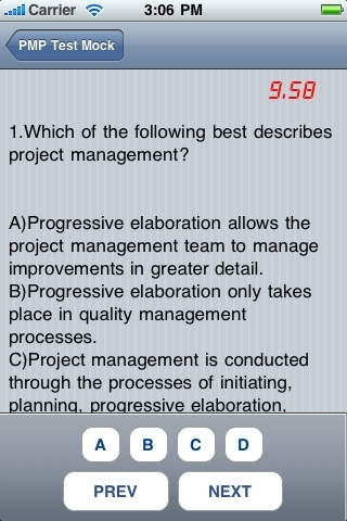 Professional for 10 PMP® and CAPM® Practice Exam Questions