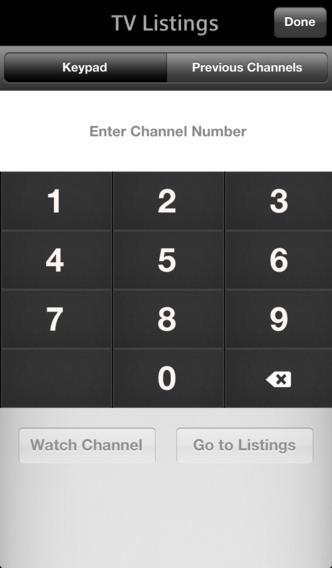 XFINITY TV Remote