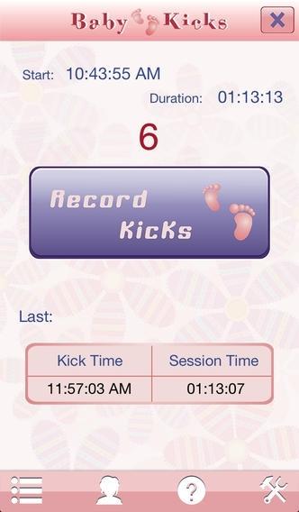 Baby Kicks Monitor
