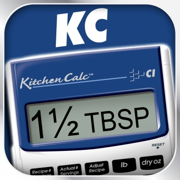 KitchenCalc Pro -- Culinary Math and Recipe Conversion Calculator for Home Chefs and Culinary Pros