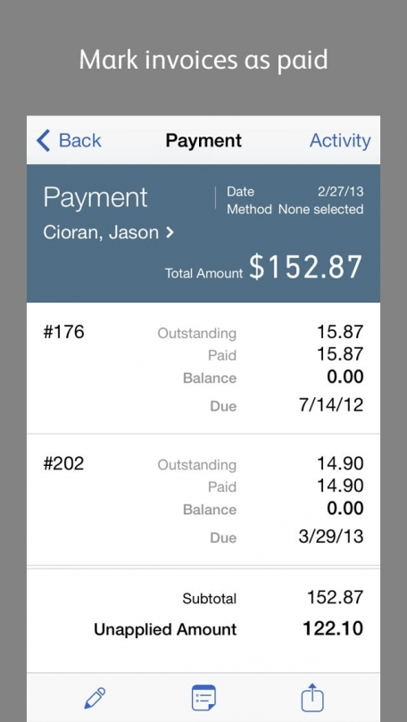 QuickBooks Online for iPhone