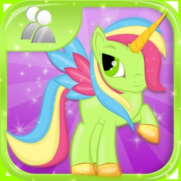 Little Magic Unicorn Dash : My Pretty Pony Princess vs Shark Tornado Attack Game - FREE Multiplayer
