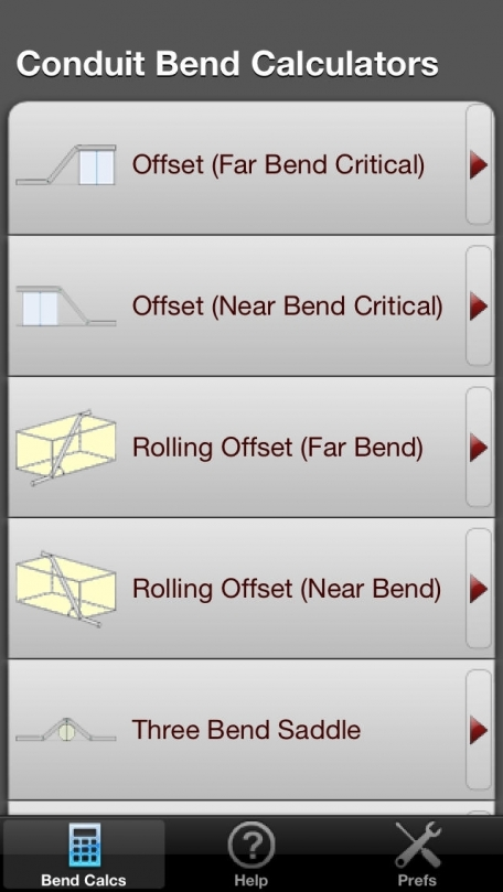 Conduit Bender Elite - Industry leading Conduit Calculator designed for Electricians - Rolling Offset and Three Bend Saddle and more