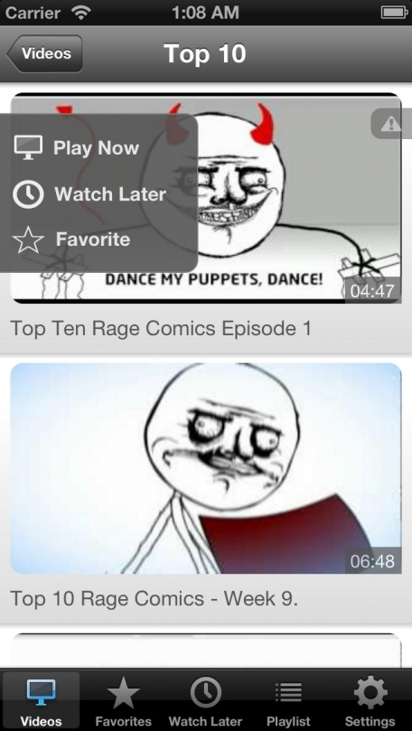 Rage Video