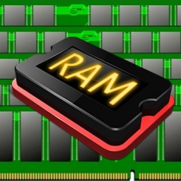RAM status (\