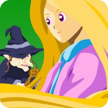 Rapunzel - Tangled (Kids Story Book)