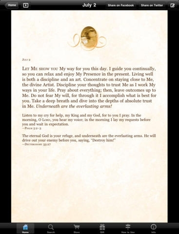 Jesus Calling Devotional by Sarah Young Lite