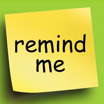 Remind Me / Nag Me