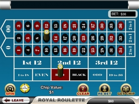casino mobile online royal roulette