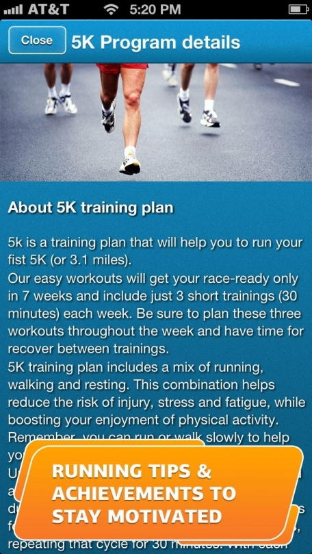 Run a 5K! 7-Week Training Plan, GPS & Running Tips by Red Rock Apps