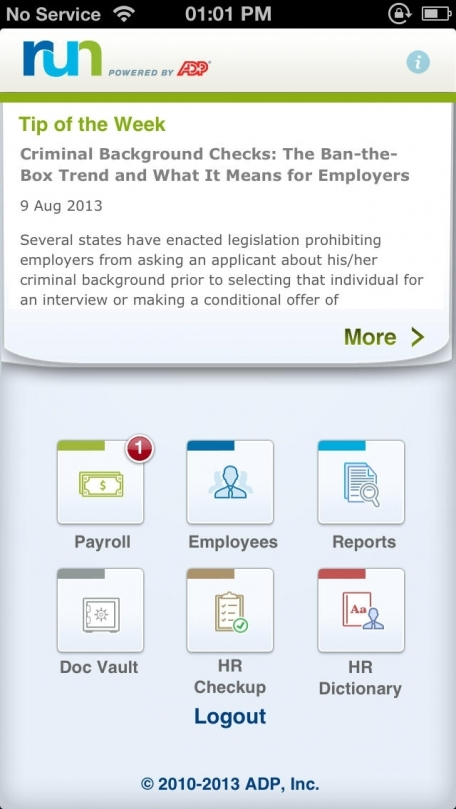 Run Powered By Adp Mobile Payroll Business App Review Ios Free