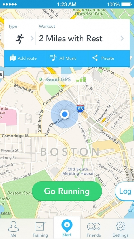 RunKeeper - GPS Track Running Walking Cycling