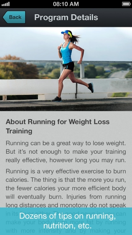 how to lose weight while running