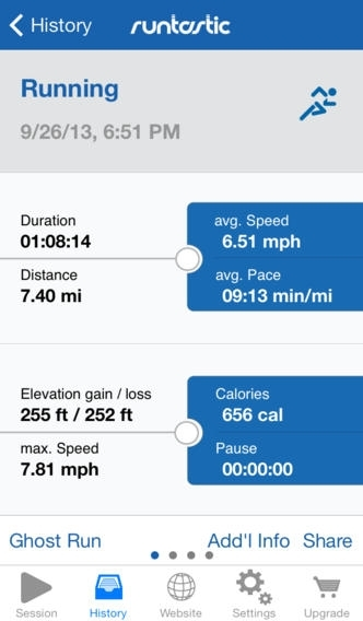 Runtastic GPS Running, Walking & Fitness Tracker