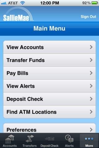 Sallie Mae Mobile Banking