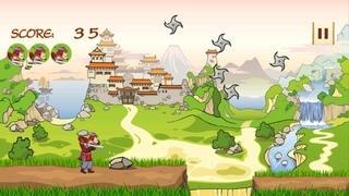 Samurai Runner vs. Ninja Stars and Warriors
