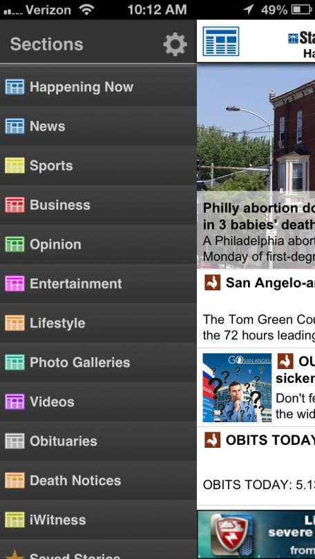 San Angelo Standard-Times for iPhone  - San Angelo, Texas