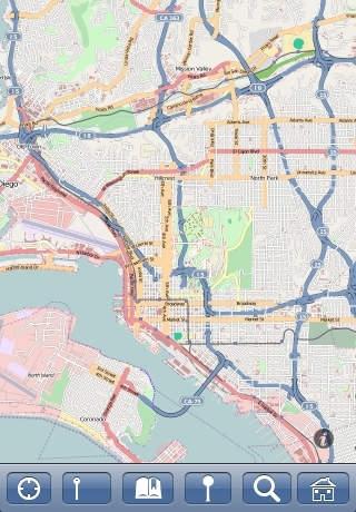 San Diego Map Offline