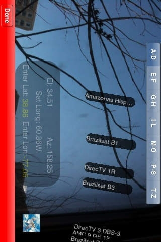 Satellite Augmented Reality