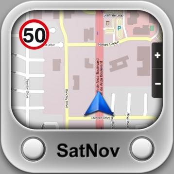 SatNov ~ novelty navigation app